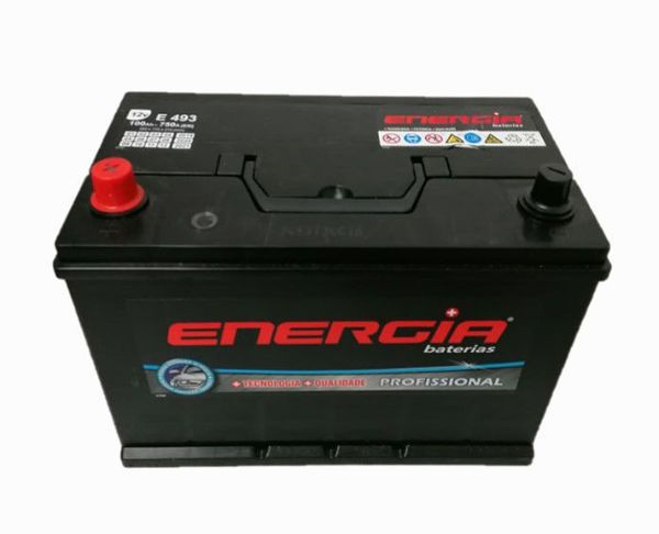 Imagem de BATERIA ENERGIA E493 100AH + ESQUERDA